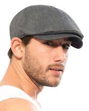 ililily Cotton Flat Cap Cabbie Hat Gatsby Ivy Cap Irish Hunting Hat Newsboy