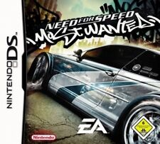 Nintendo DS 3ds Need For Speed Most Wanted alemán impecable