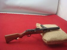 SS-MODEL 1/6 Metal & Wood Gun Model WW2 German MP28 Rifle Set
