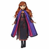 Disney Frozen 2 Anna Fashion Doll With Long Red Hair and Outfit