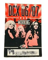 DIXIE CHICKS DCX 06/07 Stage Hand ACCESS Concert Backstage Red Pass 2006