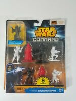 Star Wars Command Galactic Empire 9 Figure Set Exclusive Emperor Palpatine New