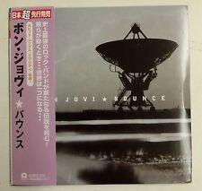 "Bon Jovi Bounce CD Japon 2007 ""Vinyle réplique"" 4 thèmes extra SHM-CD"