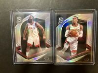 2019-20 Panini Spectra James Harden + Russell Westbrook Silver Prizm Rockets