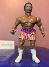 Vtg Apollo Creed Rocky Figure w/ Shorts Accessory Phoenix Toys Remco 80's 1983
