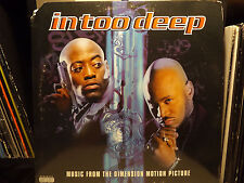 IN TOO DEEP SOUNDTRACK (VINYL 2LP)  1999!!  RARE!!  NAS + NATURE + 50 CENT + LOX