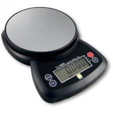 Jennings CJ-4000 Compact Digital Weigh Scale 4000g x 0.5g PCS JScale Black AC Ad
