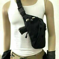 Sport Men Chest Sling Crossbody Bag Invisible Gun Holder Right Shoulder Pack US