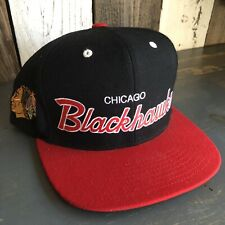 Mitchell and Ness • NHL Chicago Blackhawks Hockey • SnapBack Adjustable Hat Cap