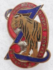 Relique insigne 1939 WWII 9° RZ REGIMENT DE ZOUAVES ORIGINAL FRENCH BADGE 1940