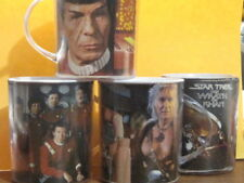 Star Trek Ii Wrath of Khan Set Of Plastic Mugs 1982