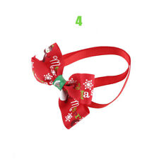1pc Christmas Dog Cat Pet Puppy Bow Knot Necktie Collar Bow Tie Clothes Cute Toy 4