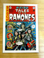 THE RAMONES : WEIRD TALES OF THE RAMONES  : A4 REPRODUCTION CONCERT POSTER