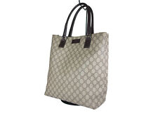 GUCCI GG Web PVC Canvas Leather Browns Shoulder Bag GT2438
