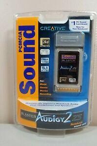 Creative PCMCIA  Audigy 2 Z5 Sound Blaster Notebook Sound Card
