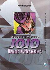 LE BIZZARRE AVVENTURE DI JOJO: DIAMOND IS UNBREAKABLE n° 4  SCONTO 15%