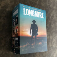 Longmire The Complete Series (15-DISC ,DVD) Fast shipping Priority Mail