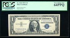 AC 1957A $1 Silver Certificate PCGS 64 PPQ  Fr 1620 uncirculated