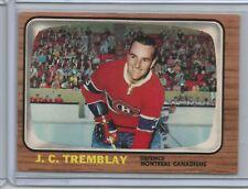 1966-67 Topps Hockey #5 J.C. Tremblay (Canadiens) - High Grade - (Box DP)