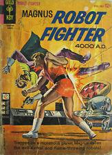 Magnus Robot Fighter #7 Gold Key Comic Bronze Age 1964 VG Sci Fi
