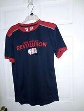 New England Revolution soccer  Jersey Revs  shirt MLS - Major League Soccer ~~ M