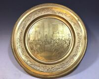 Antique French Bronze Engraved Centerpiece Le Concert D'Apres Staubin Bottini-GR