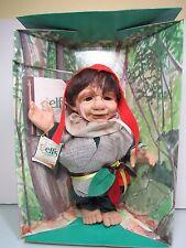 "1997 PAPA ELMFAR - 11"" Elven Forest Elf /Troll Doll - NEW IN PACKAGE - Rare"