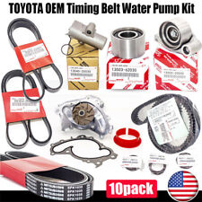 NEW OEM Timing Belt Water Pump Kit Fit Toyota 3MZFE V6 3.3L for Camry Sienna