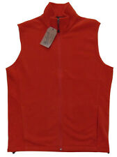 Men's WOOLRICH Orange Andes Fleece Vest Large L NWT NEW Nice!