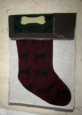 Dog - Doberman Pinscher Tapestry Christmas Stocking Fabric Piece