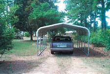 Pre-Fab carport A-Frame Galvanized Steel Frame Garage