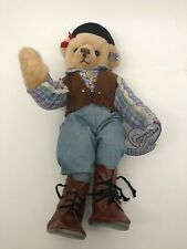 """Annette Funicello 12"""" Saddling Up Bear Cowboy Scrapbook Collection"""