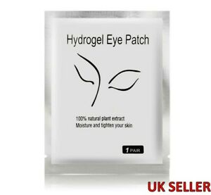 5 Pairs Eye Hydrogel Mask Gel Pads Under Eye Patches Moisture UK SELLER