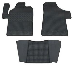 Gummifußmatten für Mercedes Viano W639 7/03-7/14 Gummimatten Fußmatten Set