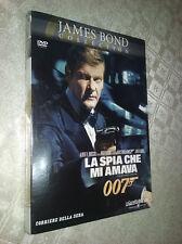 cofanetto+DVD Nuovo film-007 - LA SPIA CHE MI AMAVA FILM DVD NUOVO LEWIS GILBERT