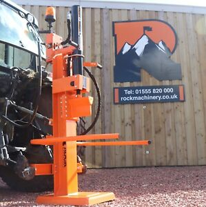 Venom 14ton tractor mounted log splitter by Rock Machinery