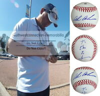 Akinori Otsuka Texas Rangers Autograph Signed Baseball Shinano Grandserows Proof