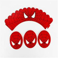 Wraps Party Kids Birthday For Wrappers Spiderman Toppers Cake