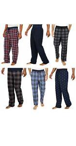 Nautica Sleepwear Men's Fleece Pants Comfort Waistband Choose Size & Color | S28