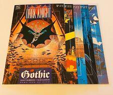 BATMAN: LEGENDS OF THE DARK KNIGHT / GOTHIC # 1-5 / 5 COMIC LOT / DC COMICS