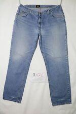 Lee RANGER usato (Cod.Q476) W46 L34 denim jeans dritto. Taglio classico e dritto