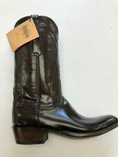 Lucchese Classic Cowboy Boots, Color: Brown Goat, NWT, Size 11.5 (D Width)