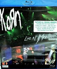 Korn - Live At Montreux  Blu-ray Disc, 2004 NEW!Concert Performance, Widescreen