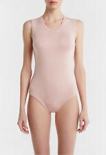 La Perla New Silk Soul Bi Stretch Silk Sleeveless Bodysuit 10 Pink