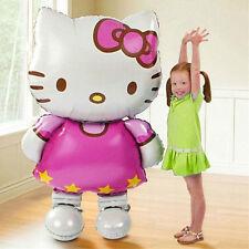 Large 80x48cm Hello Kitty Cat foil balloons cartoon birthday decoration