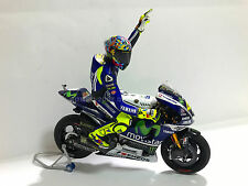 1:12 Tamiya Full Detail Yamaha M1 Valentino Rossi 2014 Misano Bike + Figure NEW