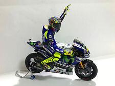 1:12 Tamiya Full Detail Yamaha M1 Valentino Rossi 2014 Misano Bike + Figure NEW