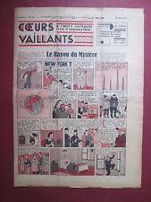 COEURS VAILLANTS N°13 du 28 MARS 1937 HERGE TINTIN CHEZ LES ARUMBAYAS BE