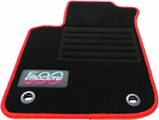 passend für Fiat 500 Autofußmatten Autoteppiche Fußmatten Baujahr 2007-2013 Lrov