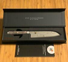 "Rare Miyabi Black 5000MCD67 5.5"" SANTOKU Knife by Zwilling J.A. Henckels"